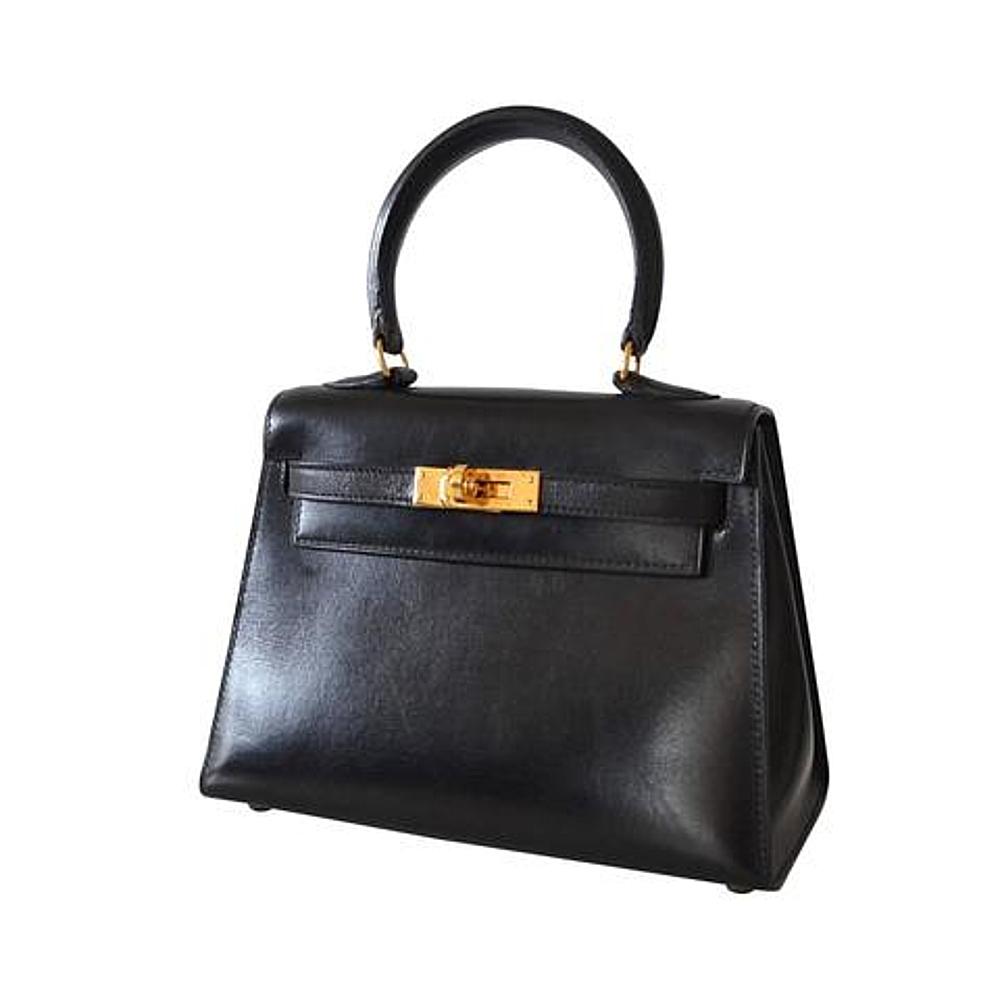 17560eebcf33 Hermès Kelly 20 Sellier Black Box