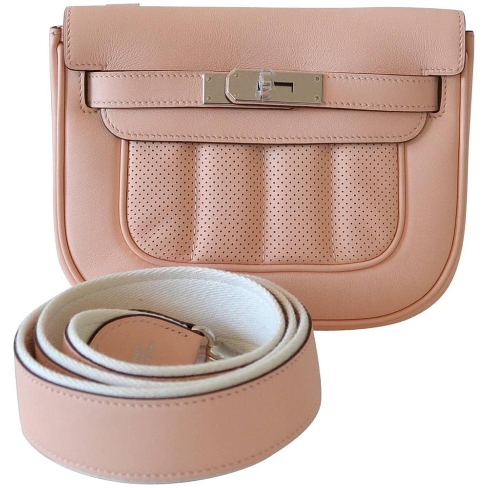 0c0adf6c4944 Hermes Handbag Mini Berline Swift Rose Sakura