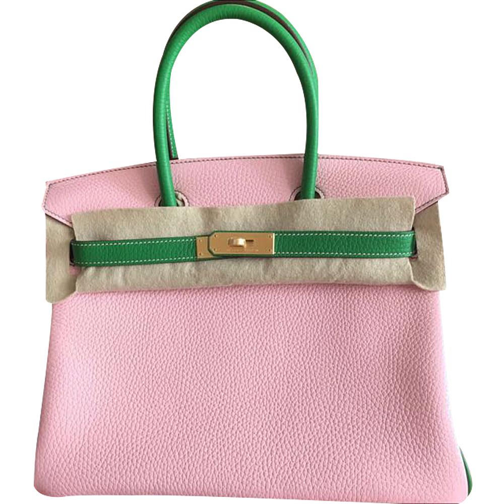 7c9dcbb61a7 Hermès Birkin 30 HSS TC Sakura/bambou Ghw