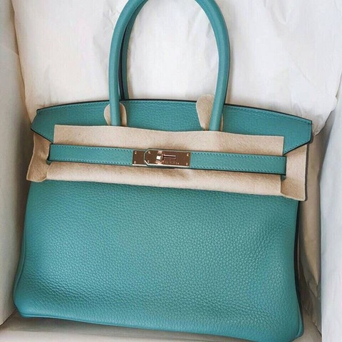 grey birkin bag - hermes azap mint green wallet